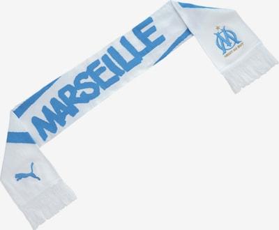 PUMA Schal 'Olympique de Marseille' in blau / weiß, Produktansicht