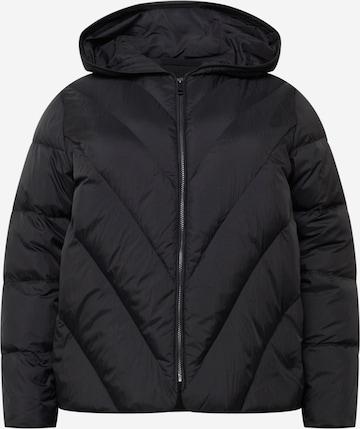 Selected Femme Curve Φθινοπωρινό και ανοιξιάτικο μπουφάν 'DUVA' σε μαύρο
