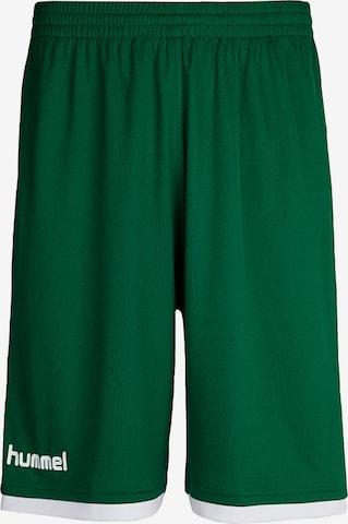 Pantalon de sport Hummel en vert