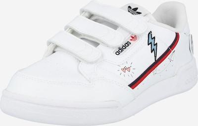 Sneaker 'Continental 80' ADIDAS ORIGINALS di colore blu chiaro / rosso / nero / bianco, Visualizzazione prodotti