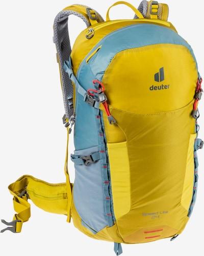 DEUTER Rucksack 'Speed Lite 24' in hellblau / gelb, Produktansicht