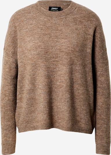 ONLY Pullover  'Janny' in braun, Produktansicht
