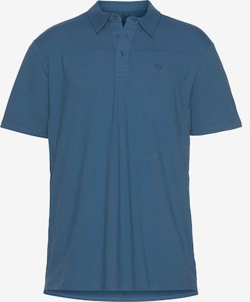 All Terrain Gear by Wrangler Poloshirt in Blau
