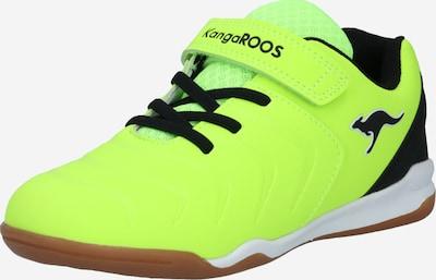 Sportbačiai iš KangaROOS , spalva - neoninė geltona / juoda, Prekių apžvalga