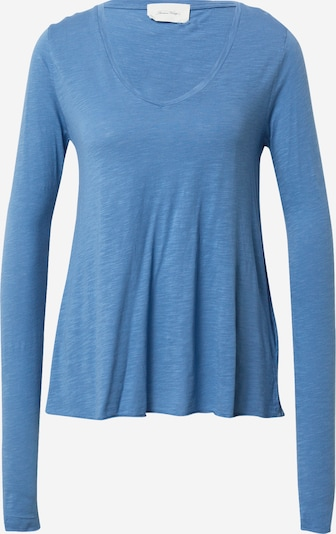 AMERICAN VINTAGE T-shirt i blåmelerad, Produktvy