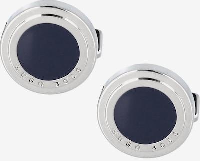 BOSS Casual Manchetknopen in de kleur Antraciet / Zilver, Productweergave