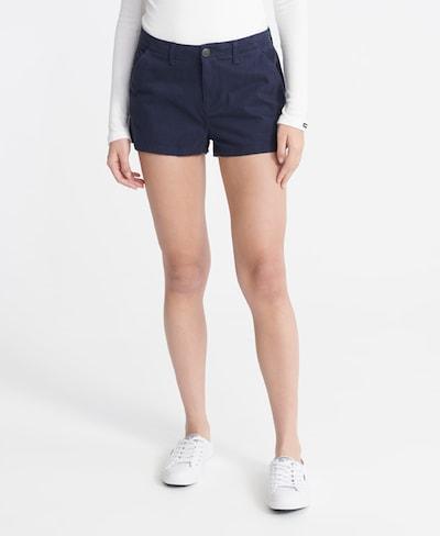 Superdry Shorts in marine, Modelansicht