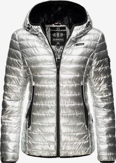 MARIKOO Winterjacke ' Jaylaa ' in silber, Produktansicht