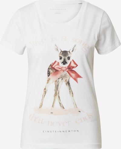 EINSTEIN & NEWTON Тениска в пъстро / бяло, Преглед на продукта