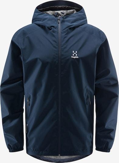 Haglöfs Outdoorjas 'Betula GTX' in de kleur Navy / Wit, Productweergave