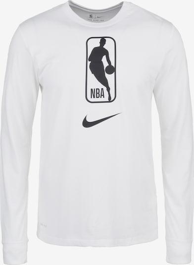 NIKE Trainingsshirt 'NBA Team 31 Dry' in schwarz / weiß, Produktansicht