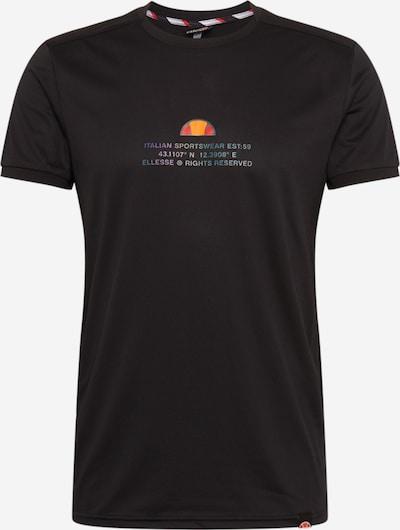 ELLESSE Functioneel shirt in de kleur Gemengde kleuren / Zwart, Productweergave