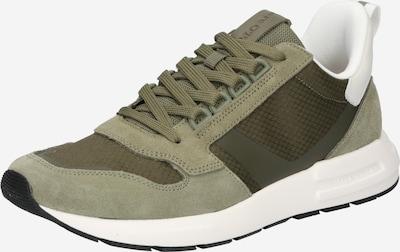Sneaker bassa Marc O'Polo di colore verde / bianco, Visualizzazione prodotti