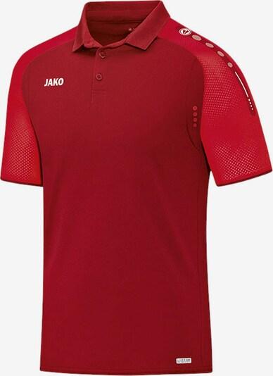 JAKO Poloshirt in rot / blutrot, Produktansicht