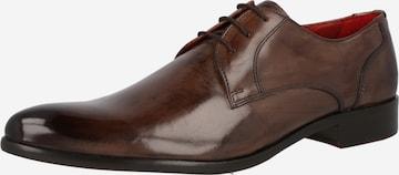 MELVIN & HAMILTON Обувки с връзки 'Toni 1' в кафяво