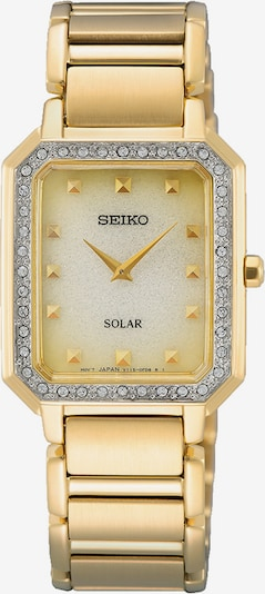 SEIKO Analoguhr in gold, Produktansicht