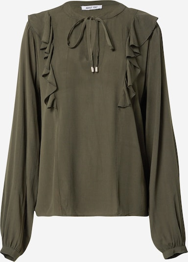 ABOUT YOU Blouse 'Darja' in Dark green, Item view