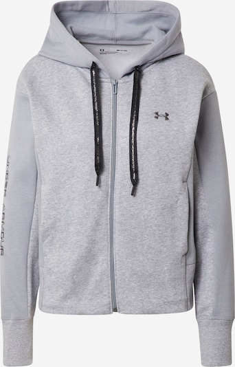 UNDER ARMOUR Functional fleece jacket 'Rival' in Grey / mottled grey, Item view