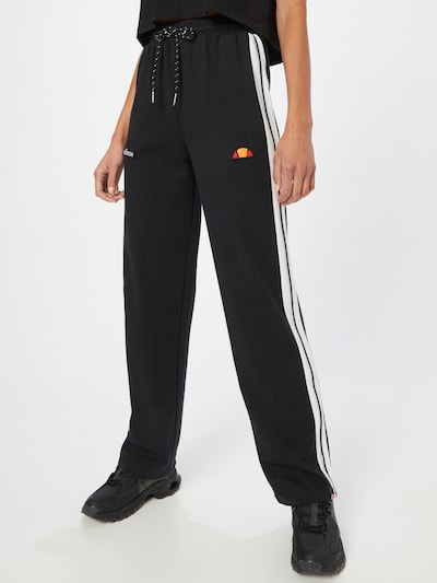 ELLESSE Παντελόνι φόρμας 'Ater Track' σε πορτοκαλί / κόκκινο / μαύρο / λευκό, Άποψη μοντέλου