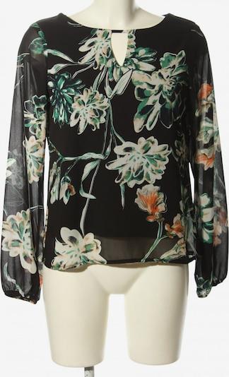 SISTERS POINT Schlupf-Bluse in S in grün / schwarz / weiß, Produktansicht