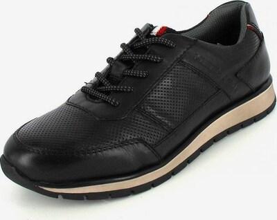 DANIEL HECHTER Sneaker in rot / schwarz / weiß, Produktansicht