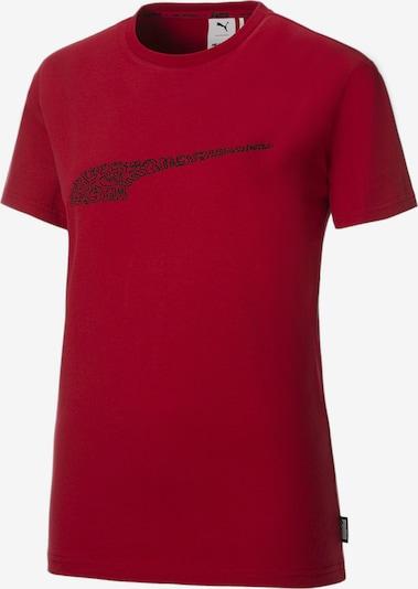 PUMA T-shirt fonctionnel en lie de vin / noir, Vue avec produit