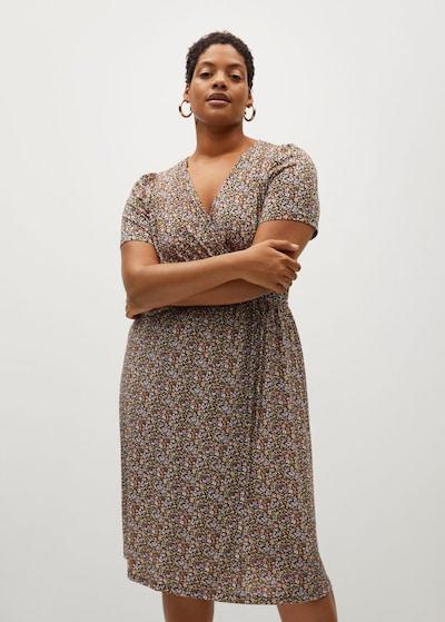 VIOLETA by Mango Kleid in mischfarben / schwarz, Modelansicht