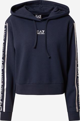 EA7 Emporio Armani Sweatshirt in Blue