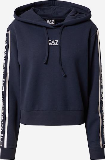 EA7 Emporio Armani Sweatshirt in Navy / White, Item view