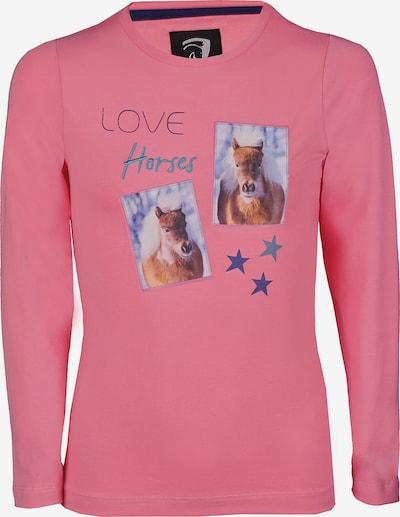 HORKA Shirt in mischfarben / pink, Produktansicht