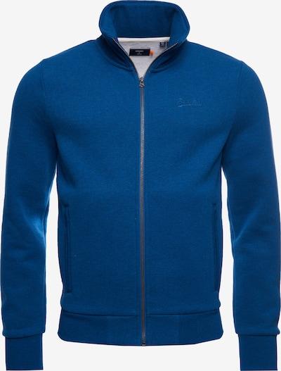 Superdry Trainingsjack in de kleur Blauw, Productweergave