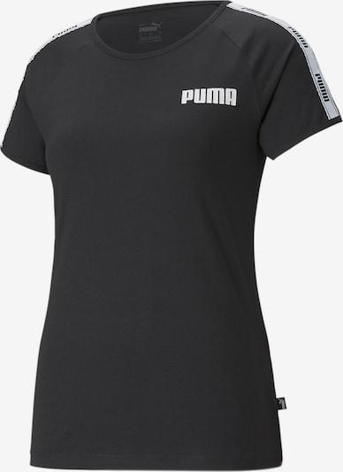 PUMA Shirt in de kleur Zwart / Wit, Productweergave
