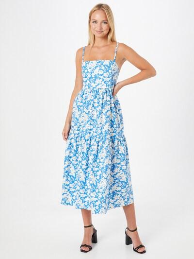 Gestuz Jurk 'Mynte' in de kleur Hemelsblauw / Wit, Modelweergave