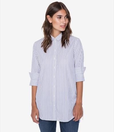 Soccx Bluse in blau / weiß, Modelansicht