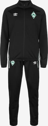 UMBRO Sportpak 'SV Werder Bremen' in de kleur Groen / Zwart / Wit, Productweergave