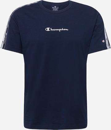 T-Shirt Champion Authentic Athletic Apparel en bleu