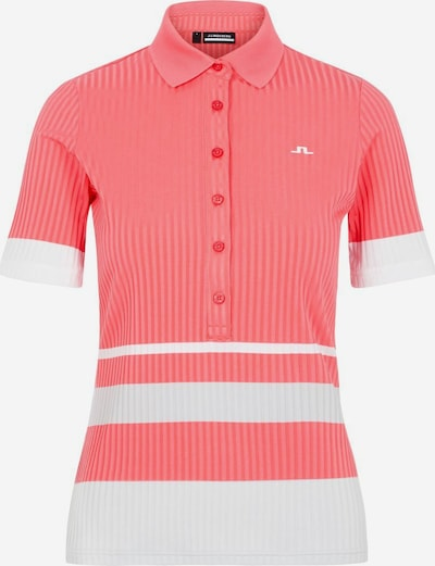 J.Lindeberg Shirt 'June' in de kleur Abrikoos / Perzik, Productweergave