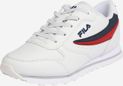 FILA Sneaker in rot / schwarz / weiß, Produktansicht