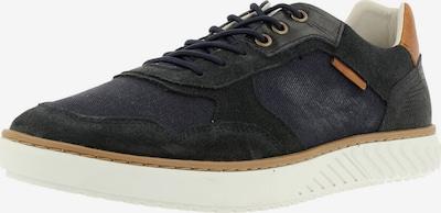 BULLBOXER Sneaker in dunkelblau / braun / schwarz, Produktansicht
