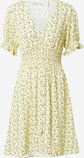 NU-IN Ljetna haljina u svijetložuta / crna, Pregled proizvoda