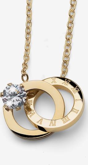 Oliver Weber Kette mit Ring-Anhänger Estar STE CZ in gold, Produktansicht