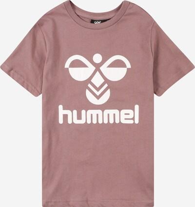 Hummel T-Shirt 'Tres' in beere / weiß, Produktansicht