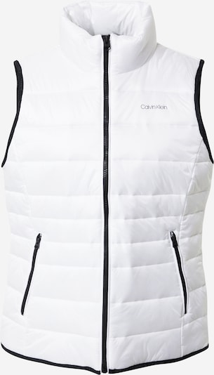 Calvin Klein Gilet en noir / blanc, Vue avec produit
