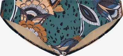 Skiny Bikinibroek 'Flores' in de kleur Groen, Productweergave