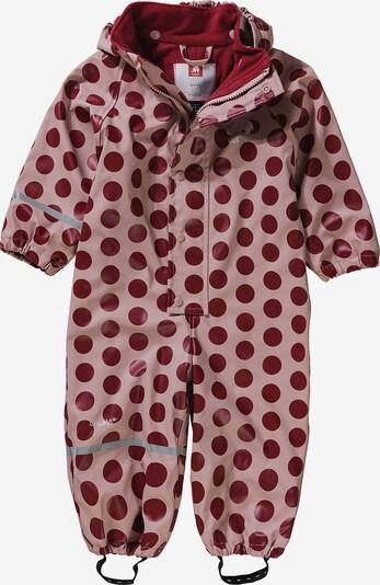 CELAVI Regenanzug in rosa / dunkelrot, Produktansicht