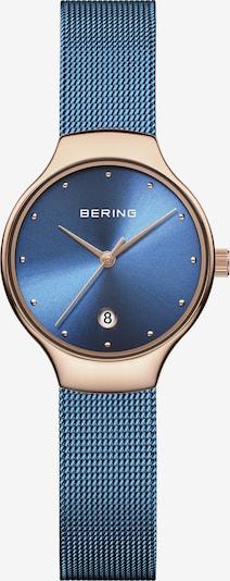 BERING Uhr in blau / rosegold, Produktansicht