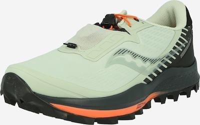 saucony Juoksukengät 'PEREGRINE 11 ST' värissä pastellinvihreä / musta, Tuotenäkymä