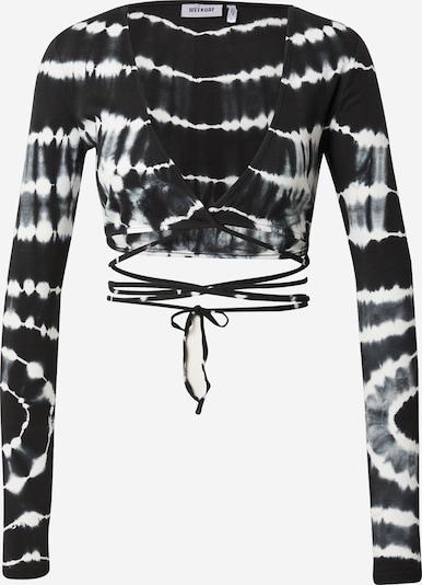 WEEKDAY Pullover in schwarz / weiß, Produktansicht