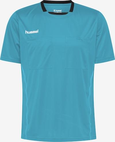 Hummel Shirt in blau / schwarz, Produktansicht