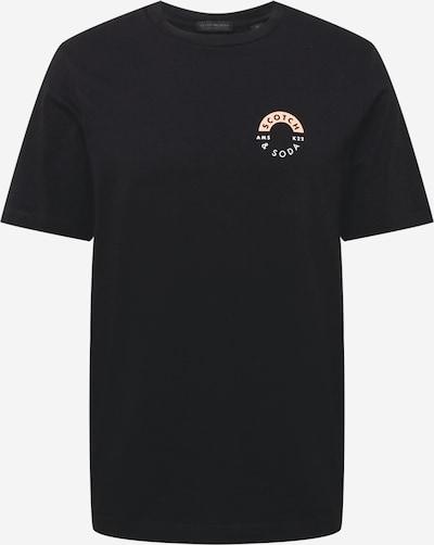 SCOTCH & SODA Shirt in de kleur Rosa / Zwart / Wit, Productweergave